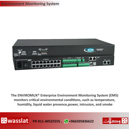 ENVIROMUX® Enterprise Environment Monitoring System
