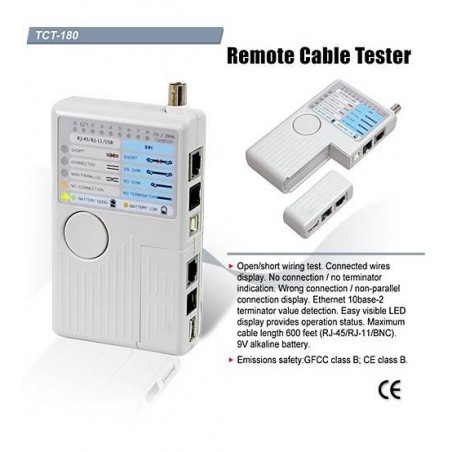 Gold Tool Remote Cable Tester -TCT-180